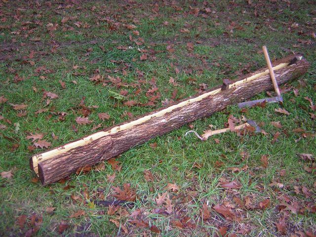 splitting stave