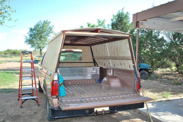 Wood Truck Cap Plans