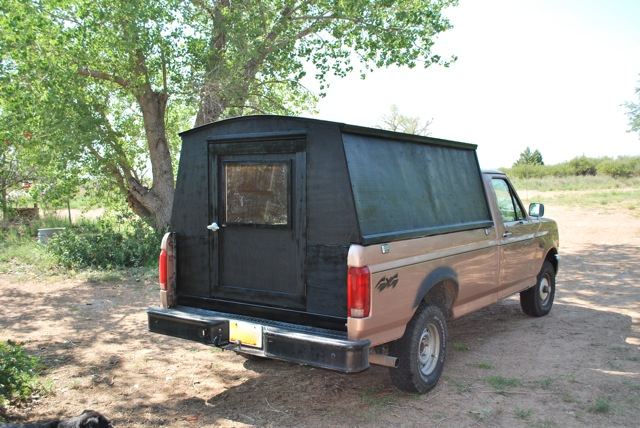 Metal folding bed - Gypsy Truck Paleotool S Weblog
