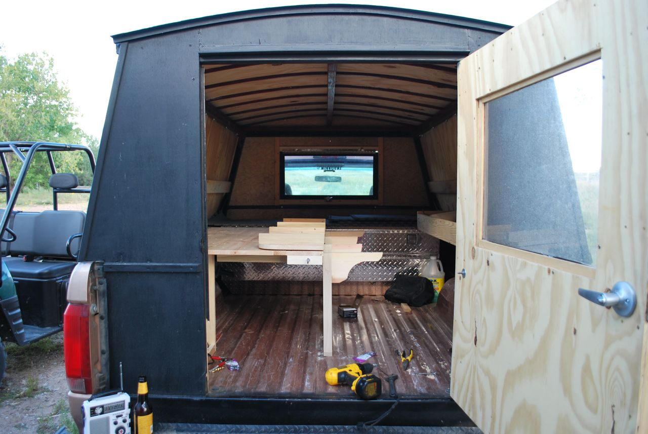Diy Small Pickup Camper Plans Joy Studio Design Gallery