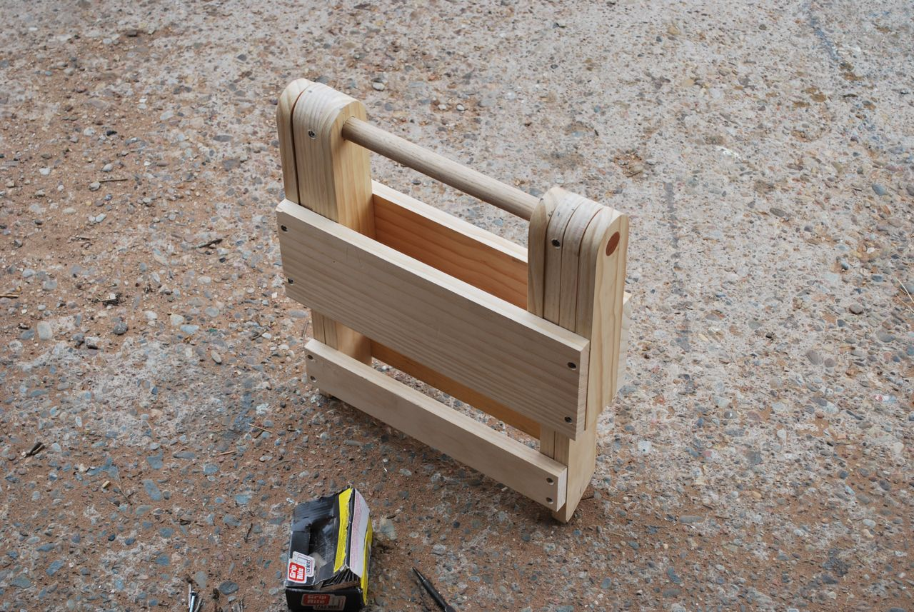 Wood Folding Stool Plans DIY Free Download Triple