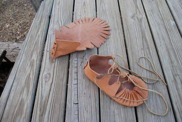 sewn heel