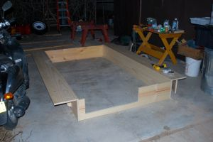 Ledges and box complete.