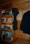 Shelves in the vardo