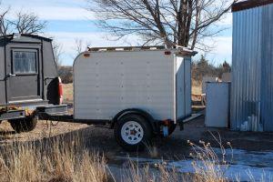 The cargo trailer. A beginning