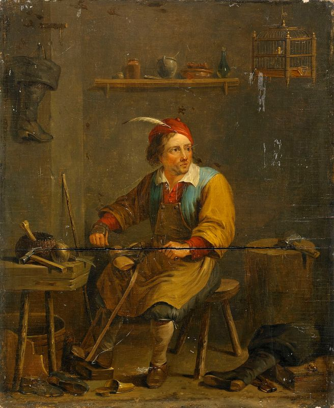 the-shoemaker_follower-of-david-teniers-ii_1800