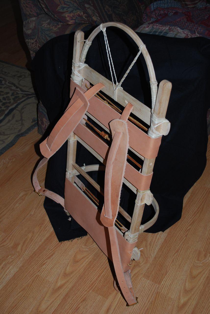 Wooden Pack Frame – Preindustrial Craftsmanship