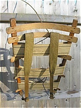 Wooden Pack Frame Preindustrial Craftsmanship