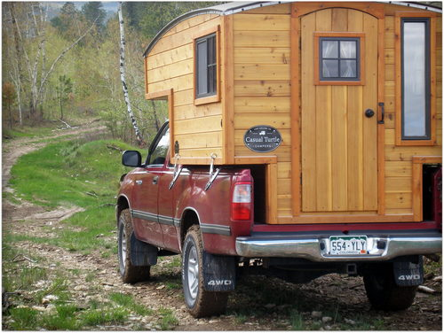 Homemade Truck Camper Shell
