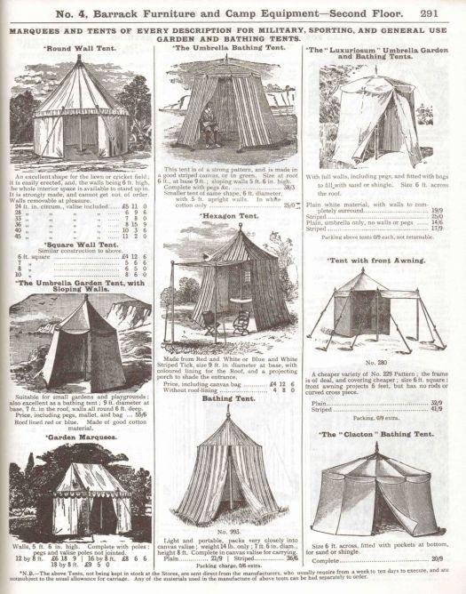 Edwardian Camp Equipment – Preindustrial Craftsmanship