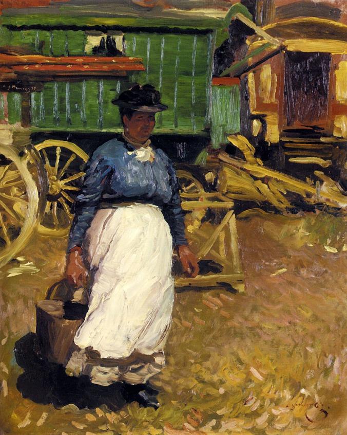 Charlotte Gray and the Green Caravan