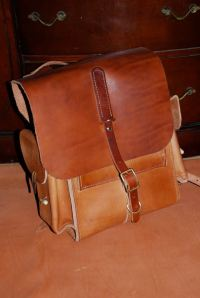 Finished backpack