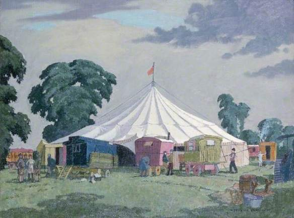 Hubbard, Big Top and Caravans