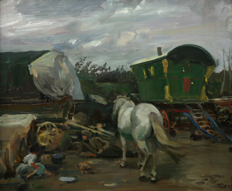 Alfred Munnings, The Caravan