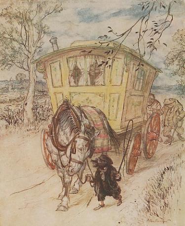 Rackham Toads Caravan