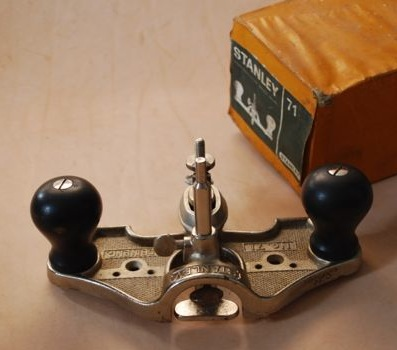 71 Router plane