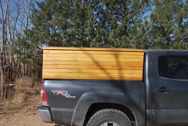 Wooden Truck Topper Preindustrial Craftsmanship