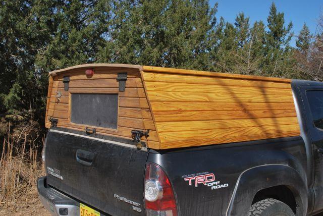 Wooden Truck Topper – Preindustrial Craftsmanship
