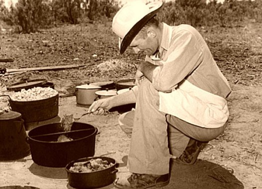Cook of the SMS Ranch_ near Spur_ Texas_ Lee Russell_ 1939-600