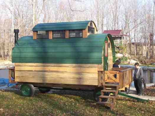 The Lazy AA Guest Ranch and Builders of towable Woolywagons.