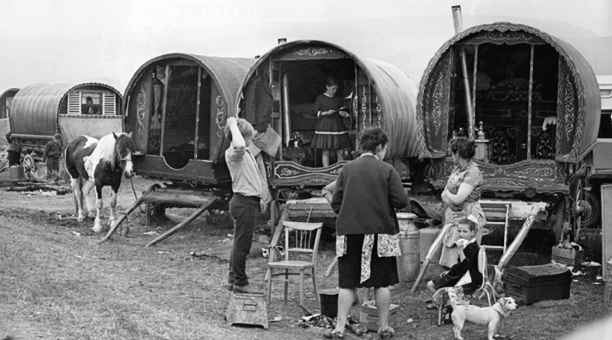 Irish Travellers in England.  I can find no date or credit for this one.