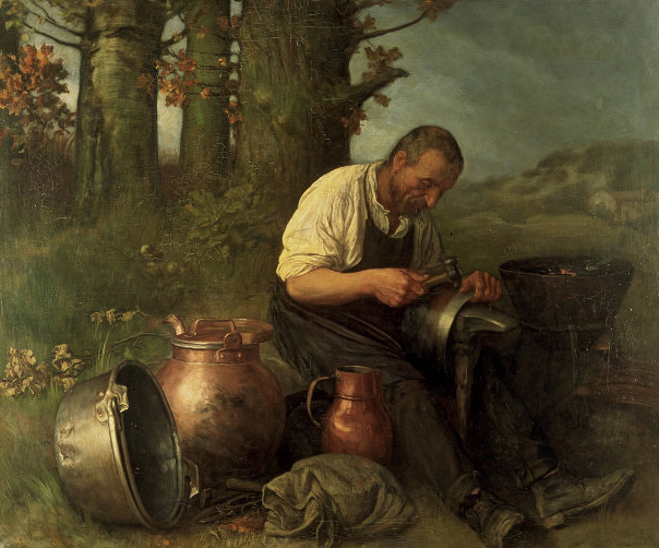 Alphonse Legros, 1874