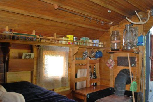 Interior of the Gypsy Wagon