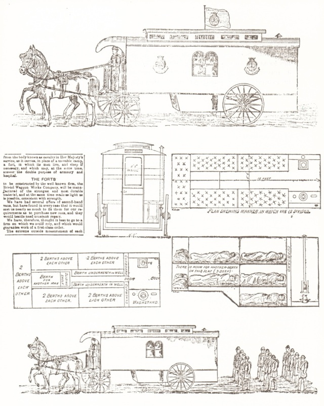 "The schematics of ""The Fort"" from Gypsies and Gentlemen by Nerissa Wilson."