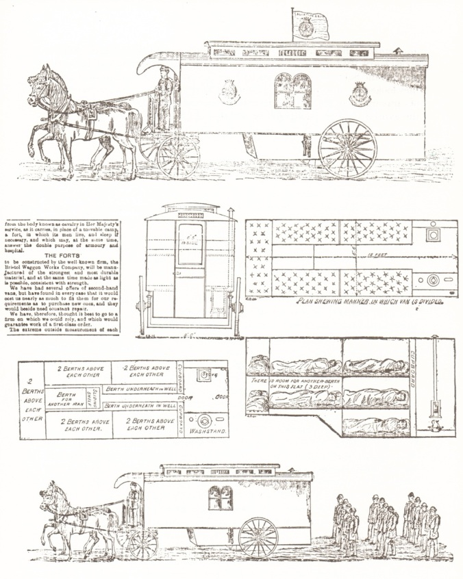 "The schematics of ""The Fort"" from Gypsies and Gentlemen by Nerissa Wilson."