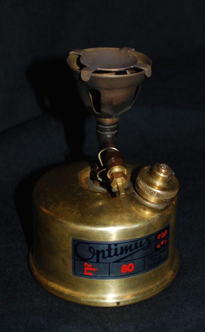 The Oprtimus 80 stove.