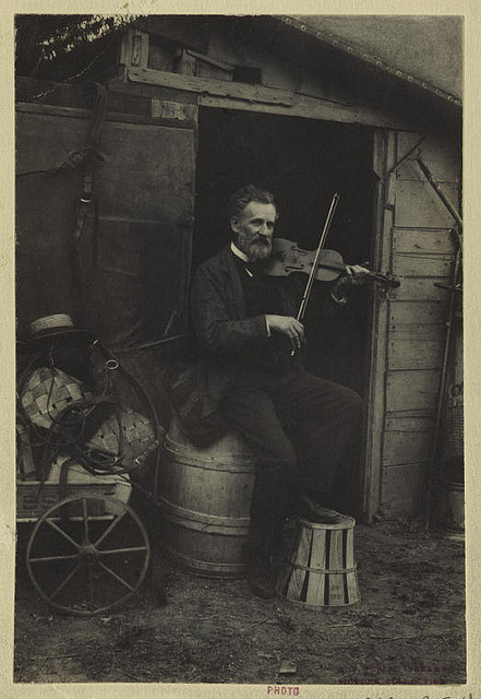The Violin Player.