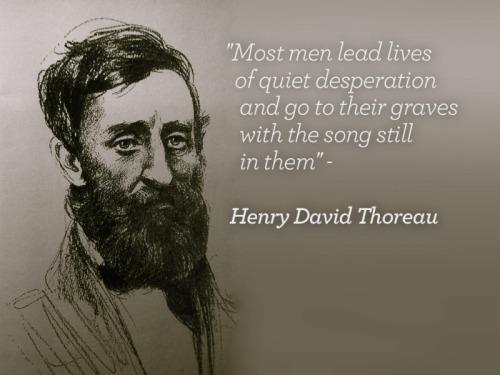 Henry David Thoreau; Artist unknown; No date