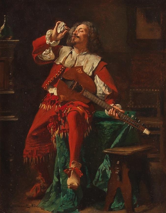 The Cavalier - Eduard Charlemont.