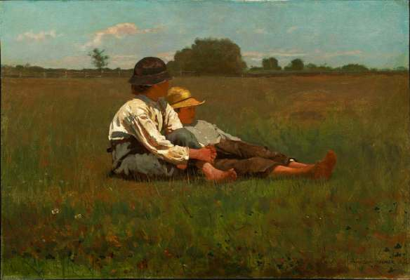Winslow_Homer_-_Boys_in_a_Pasturesm