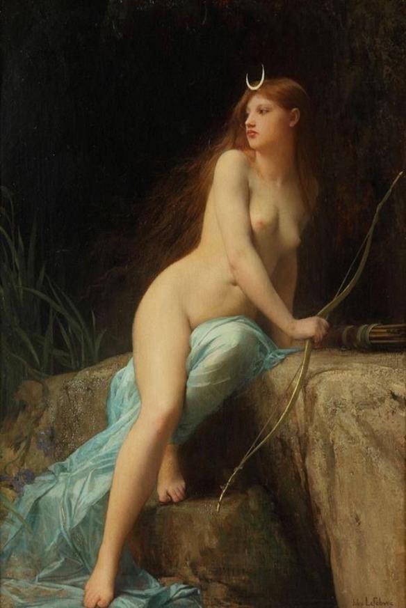 Artemis, Jules Joseph Lefebvre - 18