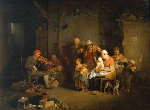 The Blind Fiddler 1806 Sir David Wilkie 1785-1841 Presented by Sir George Beaumont Bt 1826 http://www.tate.org.uk/art/work/N00099