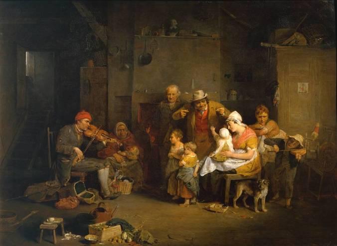 The Blind Fiddler 1806 Sir David Wilkie 1785-1841 Presented by Sir George Beaumont Bt 1826 http://www.tate.org.uk/art/work/N00099