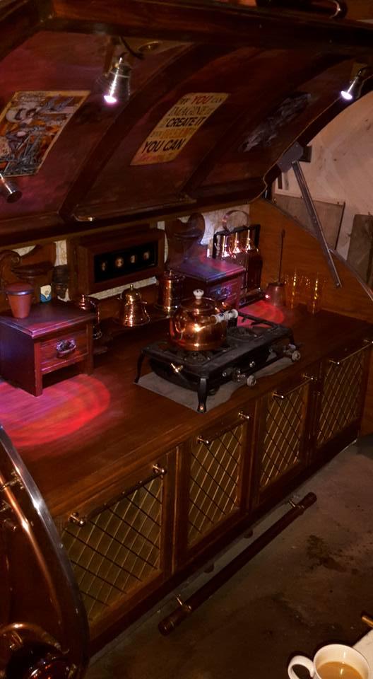 A Steampunk Teardrop Camper Preindustrial Craftsmanship