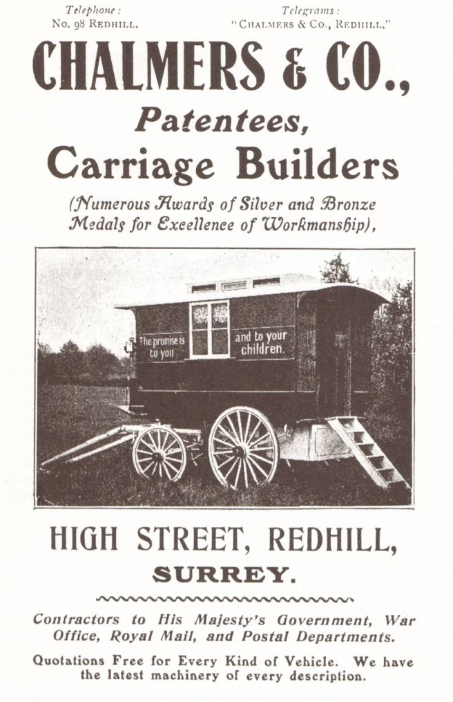Fine carriage builders.  Order your Surrey now.