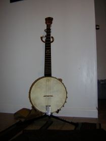 Early banjo.