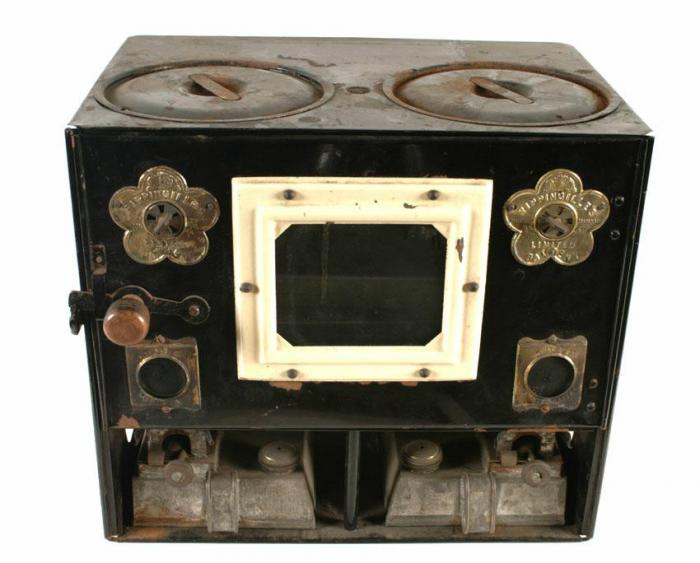 The Rippingille cook stove.