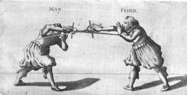 Joachim Köppe's 1619 Kunst des Fechtens.