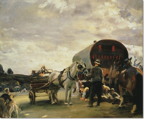 alfred-munnings-gypsy-life-the-hop-pickers