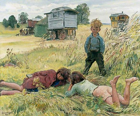 Young Gypsies 1937, Dame Laura Knight.