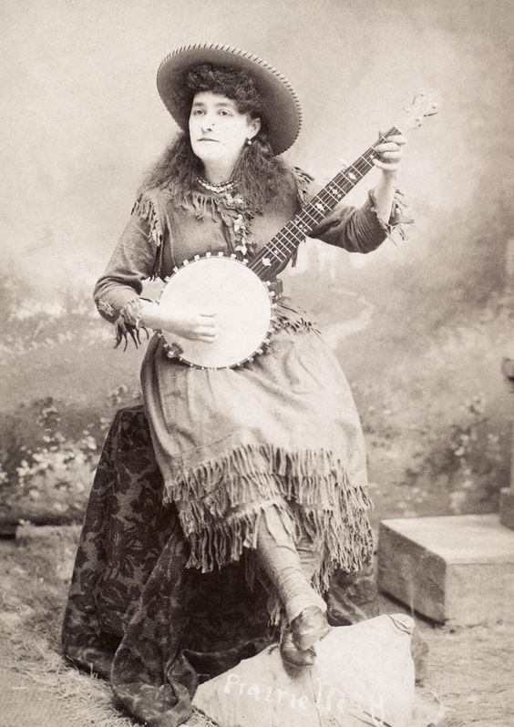 banjo cowgirl