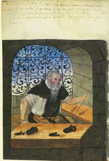 Landauer Twelve Brothers' House manuscript, c. 15th century