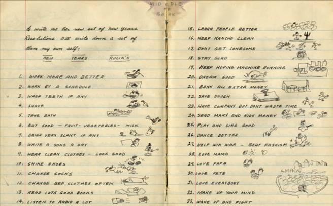 Woody Guthrie Rulins